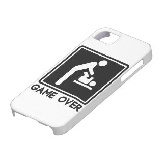 Game Over New Baby for Parent Dad iPhone 5/5S Case