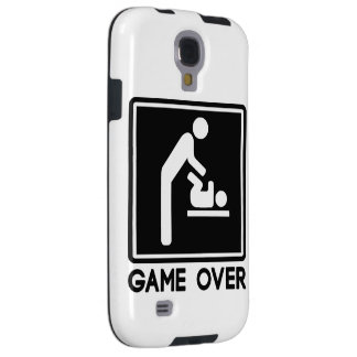 Game Over New Baby for Parent Dad Galaxy S4 Case