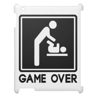 Game Over New Baby for Parent Dad Cover For The iPad 2 3 4