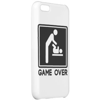 Game Over New Baby for Parent Dad iPhone 5C Cover