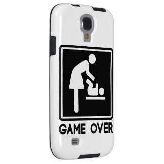Game Over New Baby for Parent Mom Galaxy S4 Case