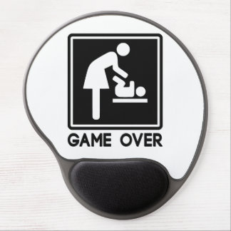 Game Over New Baby for Parent Mom Gel Mouse Pad