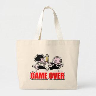 Game Over Player Jumbo Tote Bag