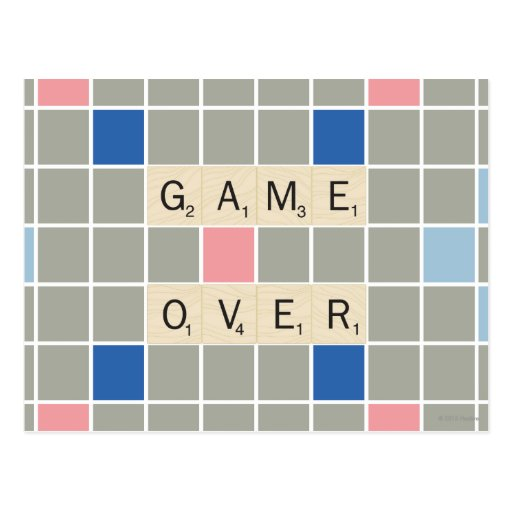 Game Over Postcards
