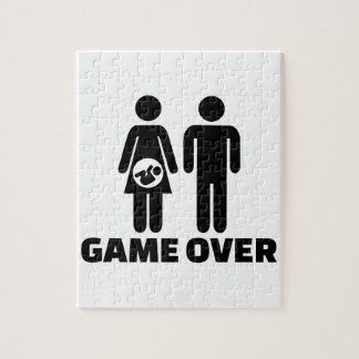 Game over pregnant baby jigsaw puzzles