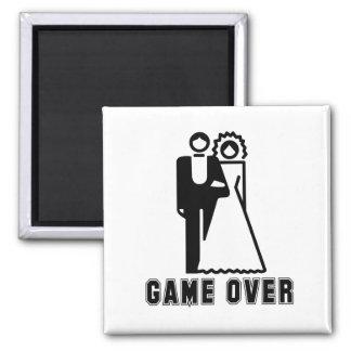 GAME OVER T-shirt Refrigerator Magnet