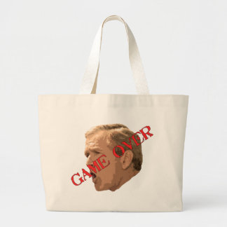 Game Over Canvas Bags