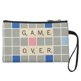 Game Over Wristlet Purse