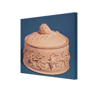 Game Pie Dish, c.1820 Canvas Print