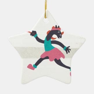 Game Set Unicorn Ceramic Star Decoration