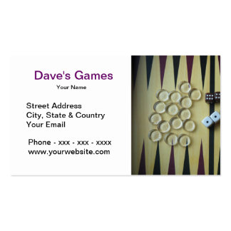 Game Shop Business Card