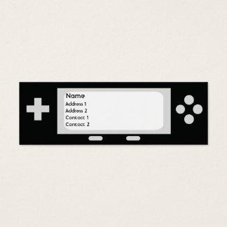 Game - Skinny Mini Business Card
