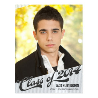 Game Time Graduation Announcement Invite Post Cards