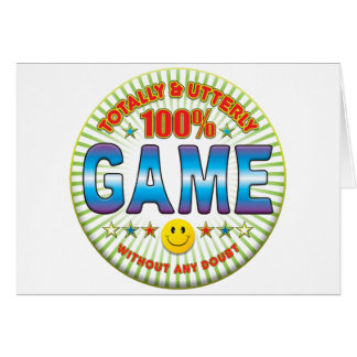 Game Totally Cards