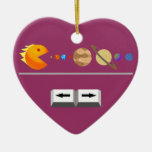 Game with planets funny Custom  Ornament
