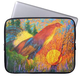 Gamecock at sunrise - Wild animal Computer sleeve