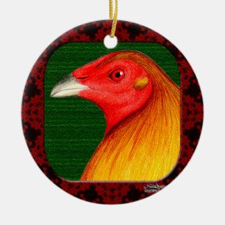 Gamecock Framed Christmas Ornaments