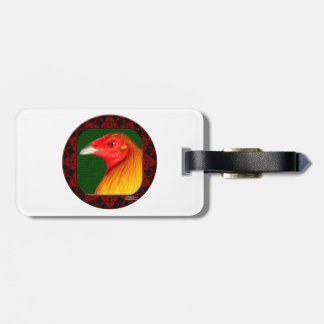 Gamecock Framed Luggage Tag