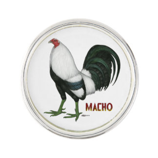 Gamecock Macho Duckwing Lapel Pin