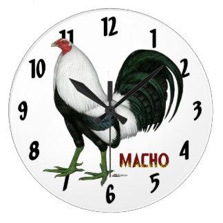 Gamecock Macho Duckwing Wallclocks