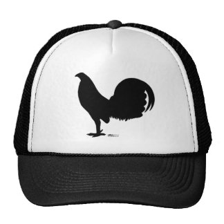 Gamecock Rooster Silhouette Mesh Hat