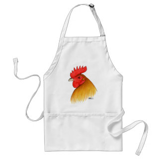 Gamecock Stag Single Comb Standard Apron