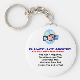 GameFace Digest Keychain