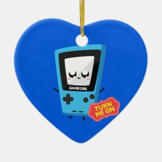 GameGirl blue Christmas Ornament