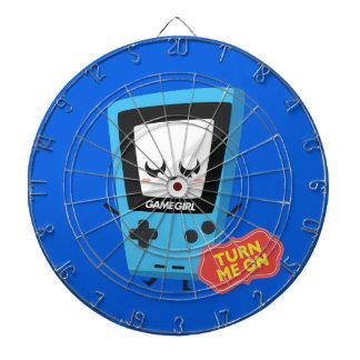 GameGirl blue Dartboard