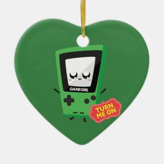 GameGirl green Christmas Ornament