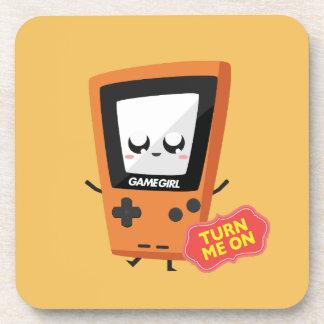 GameGirl Orange coaster