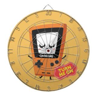 GameGirl Orange Dartboard