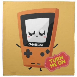 GameGirl Orange Napkin