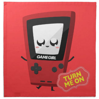 GameGirl red Napkin
