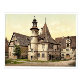Gamekeepers house (i.e.Hegereiterhaus), Rothenburg Postcard