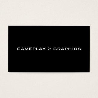 Gameplay > Graphics. Black White.