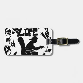 Gamer 4 Life Luggage Tags