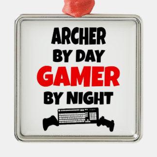 Gamer Archer Christmas Ornament