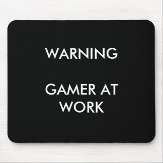 Gamer At Work Mousepad