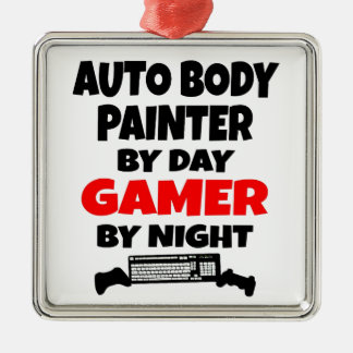 Gamer Auto Body Painter Christmas Ornament