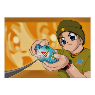Gamer Boy Poster