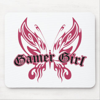 Gamer Butterfly Mouse Mat