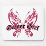 Gamer Butterfly Mouse Pad
