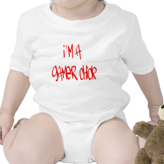 Gamer Chick Chick Baby Bodysuits