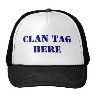 Gamer Clan Tag Hat
