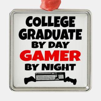 Gamer College Graduate Christmas Ornament
