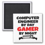 Gamer Computer Engineer Fridge Magnet