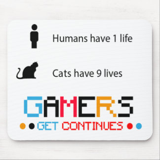 Gamer Continues Mousepad