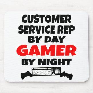 Gamer Customer Service Representative Mouse Mat
