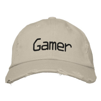 Gamer - Customized Embroidered Hat
